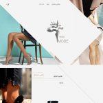 طراحی سایت فروشگاه اینترنتی مد آیین