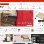 طراحی سایت فروشگاه دکوراسیون اتاق خواب بلج